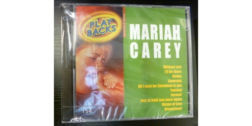 CD PLAYBACKS MARIAH CAREY