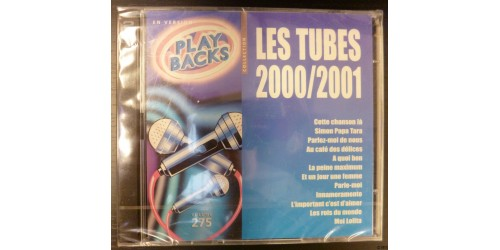 CD PLAYBACKS LES TUBES 2000/2001